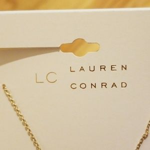LC Lauren Conrad Jewelry - Taurus Gold Necklace